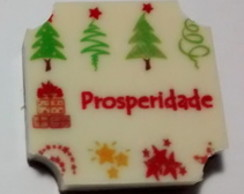 Tablet de chocolate personalizado 3X3cm