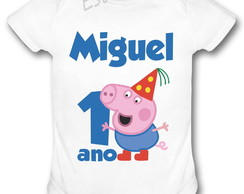 Body do George Pig Camiseta do George Bori do George