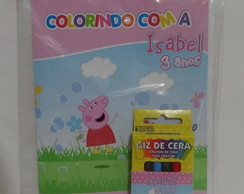 kit colorir peppa