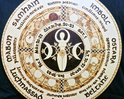 Roda do ano pagan Celtic Wiccan