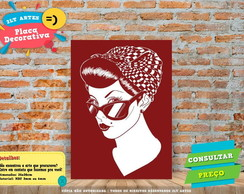 Placa Decorativa - Pin-Up - REF0213