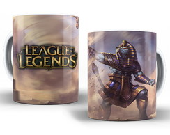 Caneca LOL League of Legends- Nasus Faraônico