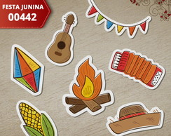 Aplique Festa Junina - 00442 (Kit c/ 50un)