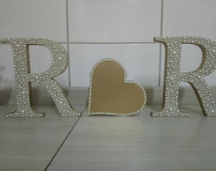 Letras MDF decorativas