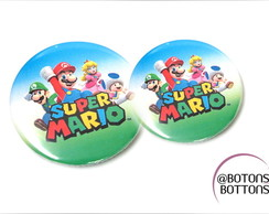 Bótons Personalizados Super Mario World