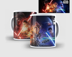 Caneca de Porcelana Star Wars