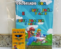 Kit lembrança do Super Mario Bros