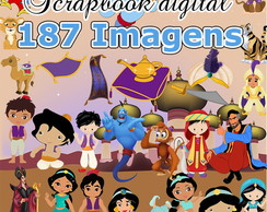 Scrapbook digital Aladin - O mais completo do site