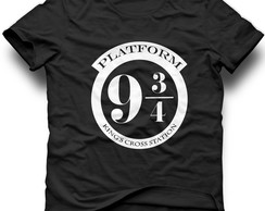camiseta harry potter plataforma 9 3/4