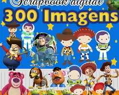 Scrapbook Digital Toy Story - O mais completo do Elo7