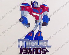 Aplique com 15 cm - Transformers
