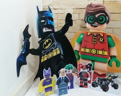 Kit display de chão Batman Lego