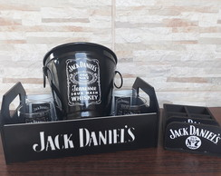 Kit Home Bar Whisky Jack Daniels