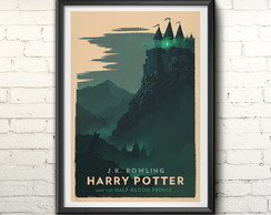 Quadro Harry Potter Half Blod Prince