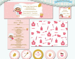 Kit Festa Infantil Mini Chef Baby I