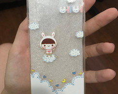 Case transparente Coelhinho iPhone