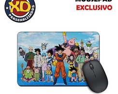 Mousepad Emborrachado Dragon Ball Z DBZ