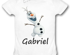 Body Personalizado do Olaf Frozen Bori do Frozen Olaf