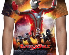 Camiseta Série Ultraman - Estampa Total