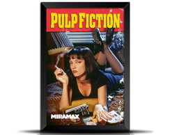 Quadro Poster Filme Pulp Fiction GF007