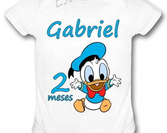Body Personalizado do Pato Donald Bori do Pato Donald