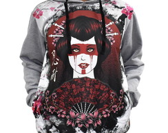Blusa De Frio Printfull Moletom Spirit Of Japan Tattoo