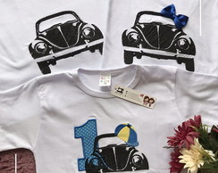 Kit 3 Camisetas Fusca