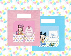 Sacola Surpresa Mickey e Minnie baby