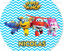 Sousplat festa Super wings