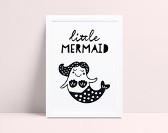 Quadro Sereia Little Mermaid