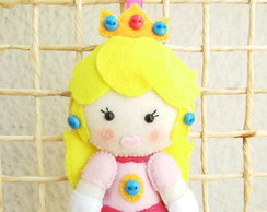 Chaveiro Princesa Peach Pocket