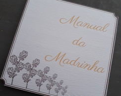 Manual da Madrinha Simples 8cmx8cm