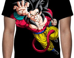 Camiseta Dragon Ball GT Goku Mod 02 - Estampa Total