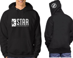 Moletom, Blusa, Casaco The Flash Seriado Star Laboratories