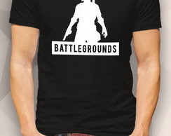 Camiseta - BATTLEGROUNDS ARMY - Masc Fem BW