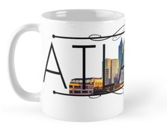 Caneca Atlanta Porcelana 350ml Mod 1