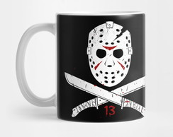Caneca Jason Voorhees Sexta Feira 13 Friday 13th Mod 3