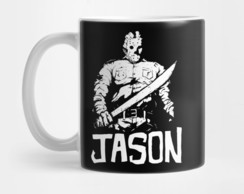 Caneca Jason Voorhees Sexta Feira 13 Friday 13th Mod 4