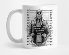 Caneca Jason Voorhees Sexta Feira 13 Friday 13th Mod 5