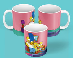 "Caneca ""The Simpsons"""