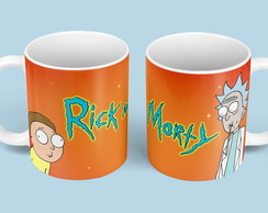 "Caneca ""Rick And Morty"""