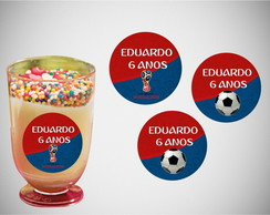 Etiqueta copinho Copa do Mundo