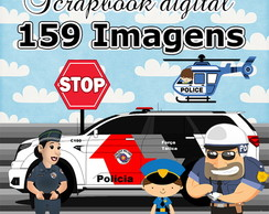 Scrapbook Digital Policia | Policial