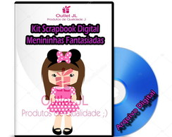Kit Scrapbook Digital - Menininhas Fantasiadas