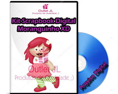 Kit Scrapbook Digital - Moranguinho XD