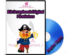 Kit Scrapbook Digital - Piratinhas