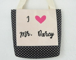 Tote bag Mr. Darcy