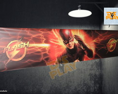 Saia de Mesa - Babado - The Flash