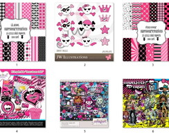Kits Digitais - Monster High