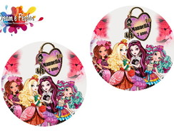 Rótulo Latinha 5cm Ever After High